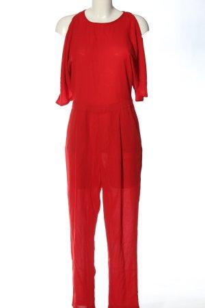 New Look Langer Jumpsuit rot Elegant
