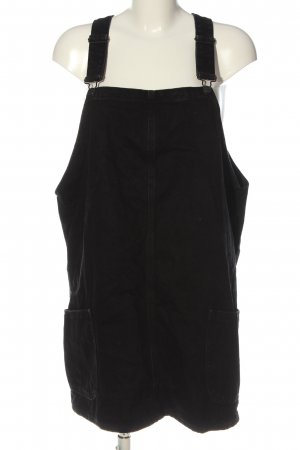 New Look Pinafore Overall Skirt black casual look