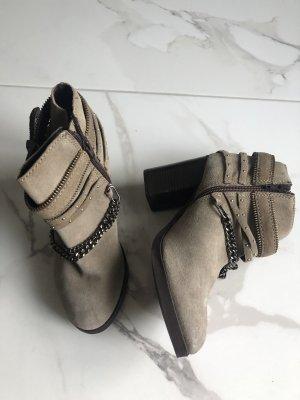 New Look Leder Booties
