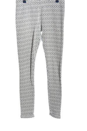 New Look Leggings schwarz-weiß Allover-Druck Casual-Look