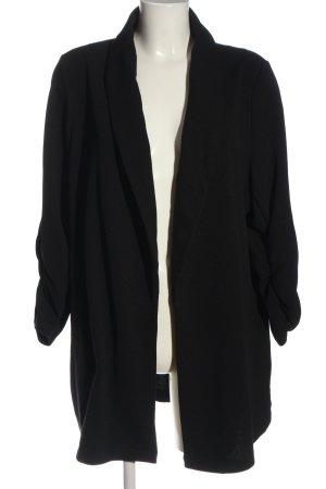 New Look Long-Blazer schwarz Casual-Look