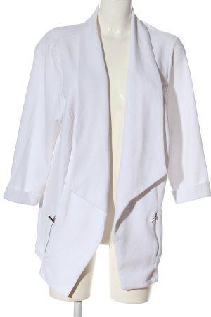 New Look Lange blazer wit casual uitstraling