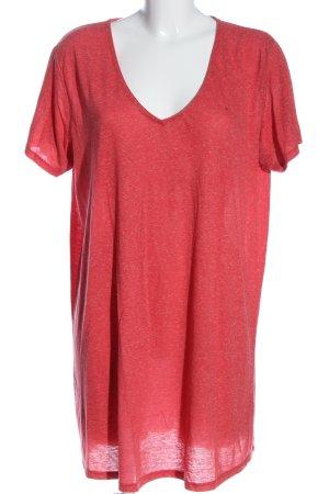 New Look Longshirt rot meliert Casual-Look
