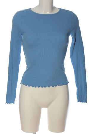 New Look Longsleeve blau Casual-Look
