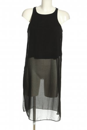 New Look Top lungo nero stile casual