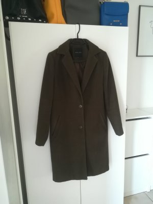 new look Mantel in dunklem khaki