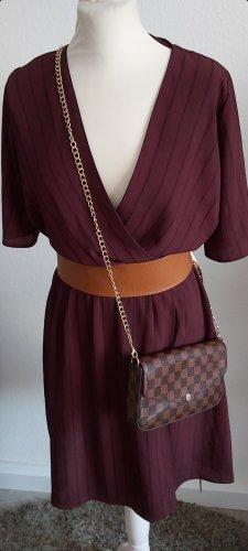 New Look Midi-jurk bordeaux