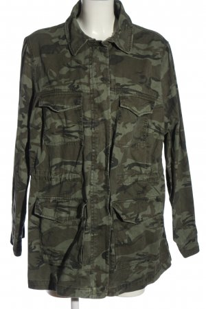 New Look Military Jacket green-brown allover print casual look