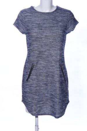 New Look Minikleid blau-hellgrau meliert Casual-Look