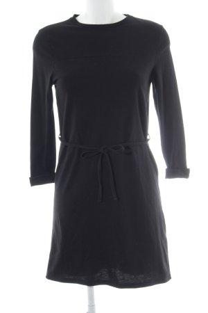 New Look Minikleid schwarz Bänderverzierung