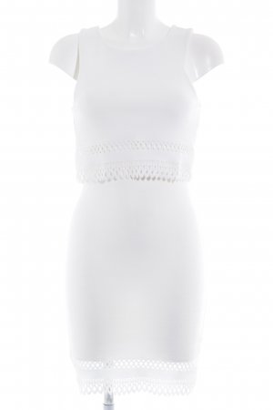New Look Minikleid weiß