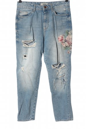 New Look Mom-Jeans Blumenmuster Casual-Look