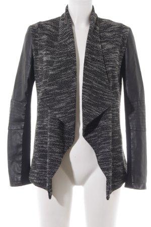New Look Outdoorjacke schwarz-weiß Casual-Look