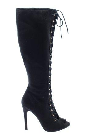 New Look Overknees black elegant
