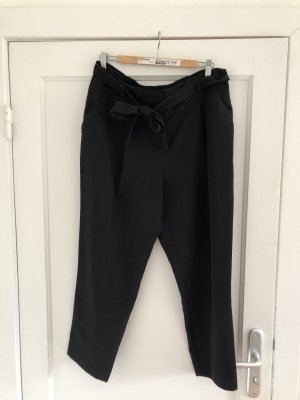 New Look High Waist Trousers black