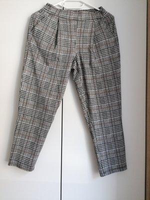 Asos Petite Spodnie 7/8 biały-czarny