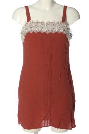 New Look Petite Robe courte rouge-blanc élégant
