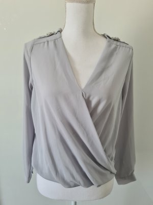 New Look Petite schöne langarm Bluse mit schönem Ausschnitt