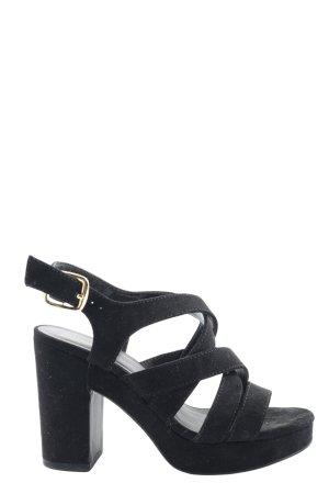 New Look Plateau-Sandaletten schwarz Elegant