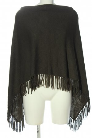 New Look Poncho braun Casual-Look