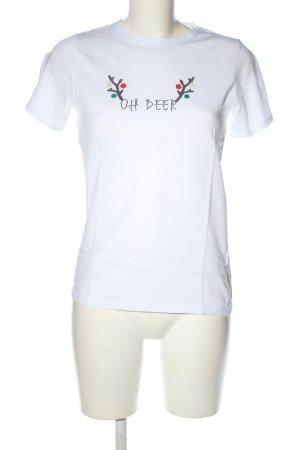 New Look Print-Shirt Schriftzug gedruckt Casual-Look