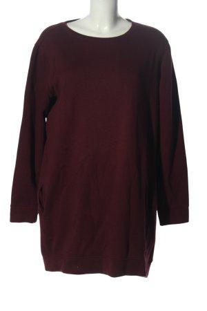 New Look Pulloverkleid rot Casual-Look