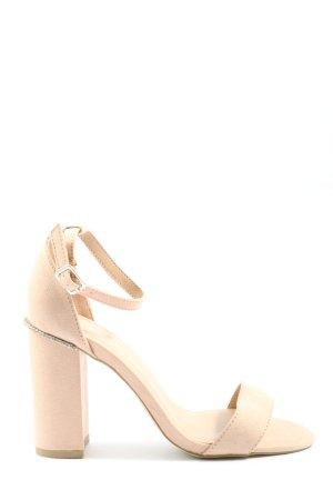 New Look Sandały z rzemykami w kolorze białej wełny W stylu casual