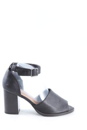 New Look Riemchen-Sandaletten schwarz Casual-Look
