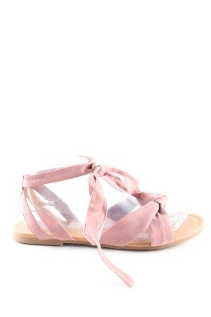 New Look Riemchen-Sandaletten pink Casual-Look