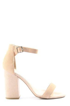 New Look Sandales à talons hauts et lanière blanc cassé style décontracté