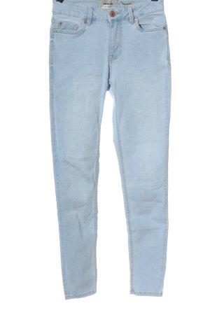 New Look Röhrenjeans blau Casual-Look