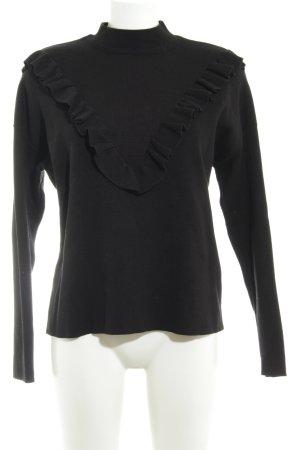 New Look Rollkragenpullover schwarz minimalistischer Stil