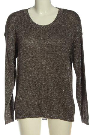 New Look Rundhalspullover bronzefarben Casual-Look