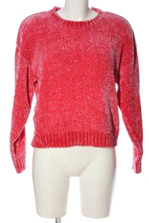 New Look Rundhalspullover pink Casual-Look
