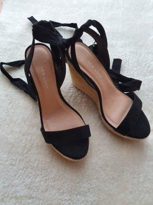 Vero Moda Wedge Sandals black