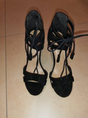 New Look Wedge Sandals black