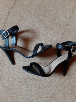 New Look Strapped High-Heeled Sandals black