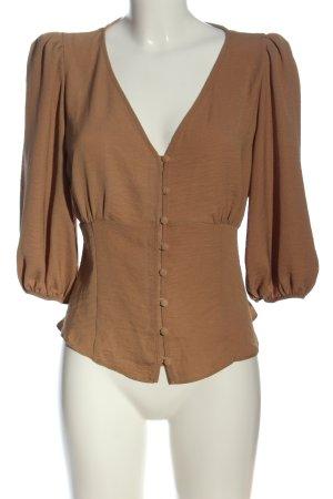 New Look Schlupf-Bluse braun Casual-Look