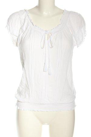 New Look Schlupf-Bluse weiß Casual-Look