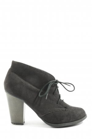 New Look Schnür-Stiefeletten schwarz Casual-Look