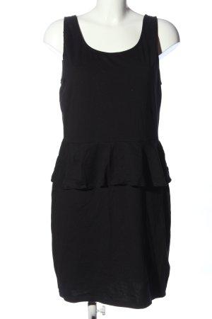 New Look Sukienka z baskinką czarny W stylu casual