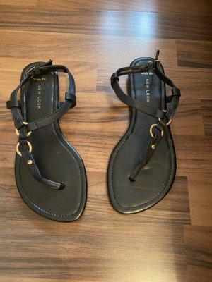 New Look schwarze Sandalen 38