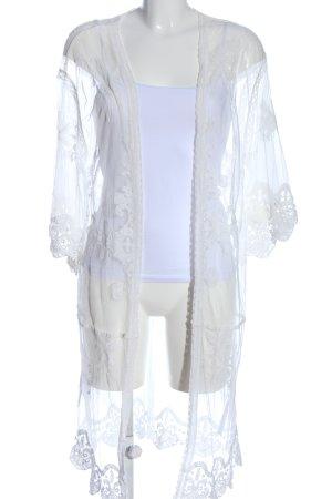 New Look Shirttunika weiß Casual-Look