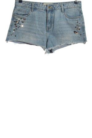 New Look Shorts blau Casual-Look
