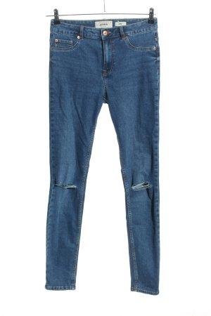 New Look Skinny Jeans blau Casual-Look