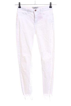 New Look Skinny Jeans weiß Casual-Look