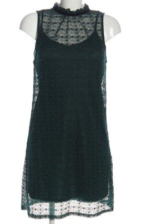 New Look Kanten jurk khaki volledige print elegant