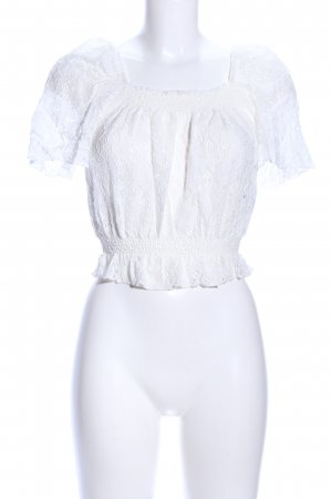 New Look Lace Top white elegant