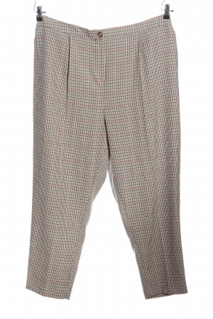 New Look Stoffhose Allover-Druck Business-Look