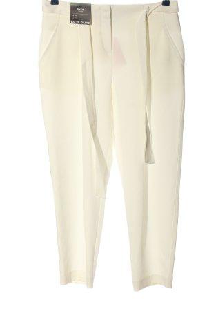 New Look Spodnie materiałowe biały W stylu casual